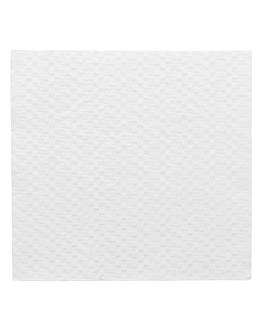 serviettes ecolabel 1 pli 20 g/m2 30x30 cm blanc ouate (2400 unitÉ)