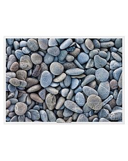 """table mats offset """"stones"""" 70 gsm 31x43 cm four coloured paper (2000 unit)"""