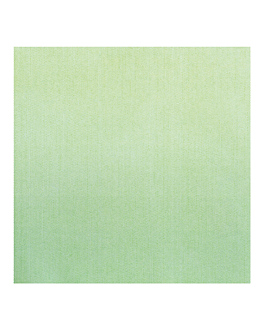 napkins 'like linen' 70 gsm 40x40 cm apple green spunlace (600 unit)