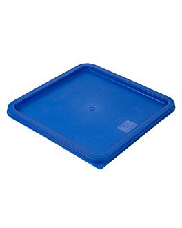 lid for code 145.58/59 164.76/77 29x29x1,5 cm blue pe (1 unit)