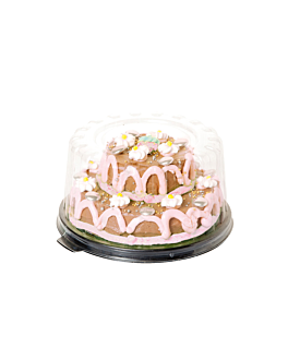 sets base + lid cakes Ø 10,3x6,3 cm ops (1000 unit)