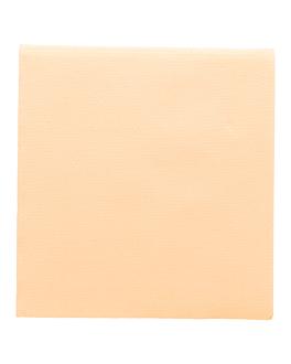 serviettes ecolabel 'double point' 18 g/m2 33x33 cm ivoire ouate (1200 unitÉ)