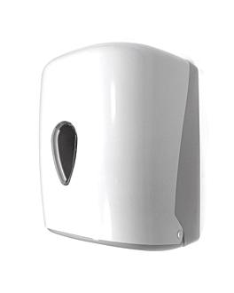 handtowel dispenser 'maxi barril' 20,7x22x32,1 cm white abs (1 unit)