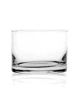 mini vaso redondo 4 oz Ø6,7x5 cm transparente cristal (72 unid.)