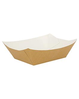 barchette 960 g 300 g/m2 10,5x7,2x4,5 cm marrone cartone (200 unitÀ)