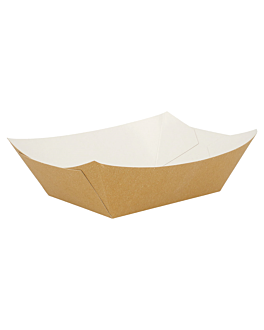 barquillas 960 g 300 g/m2 10,5x7,2x4,5 cm marrÓn cartoncillo (200 unid.)