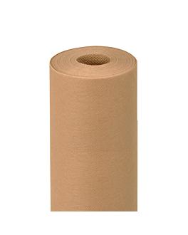 tischdecke vorgeschnitten 120 cm 'spunbond' 60 g/m2 1,20x9,6 m sandy pp (12 einheit)
