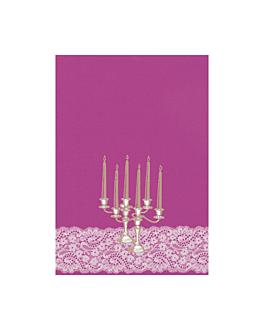 "portadas din-a4 ""candelabro"" 21x29,7 cm violeta papel (50 unid.)"