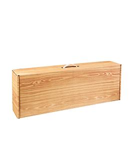 10 u. cajas jamonero 576 g/m2 64,5x39,5x11 cm madera cartÓn (1 unid.)