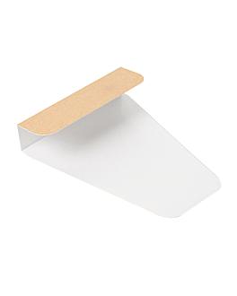 prendi pizza 'thepack' 220 g/m2 12x22,3 cm naturale cartone ondulato a nano-micro (1600 unitÀ)