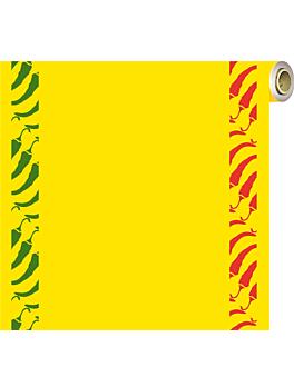 """""""tÊte-À-tete"""" prÉ. 120cm (20 feuilles) """"tex mex"""" 60 g/m2 0,40x24 m jaune vif dry tissue (4 unitÉ)"""