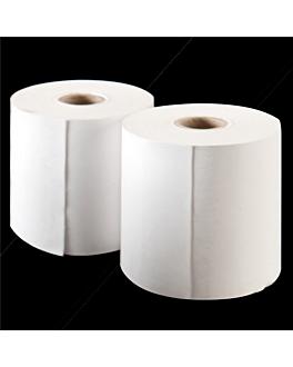 100 u. rouleaux enregistreur thermiques Ø55x57 mm blanc papier (1 unitÉ)