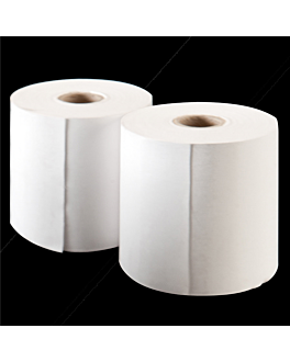 100 u. rollos registradora tÉrmicos Ø55x57 mm blanco papel (1 unid.)