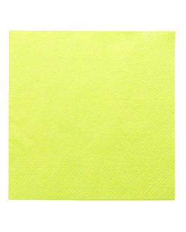 napkins ecolabel 2 ply 18 gsm 39x39 cm aniseed green tissue (1600 unit)