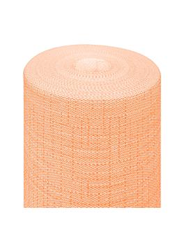 """tÊte À tÊte"" pre. 120cm (20 ser.) 'dry cotton' 55 gsm 0,40x24 m tangerine airlaid (6 unit)"