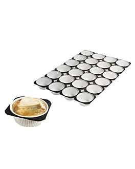 trays for 24 muffin cups 50 g 33,6x50,4 cm paper (125 unit)