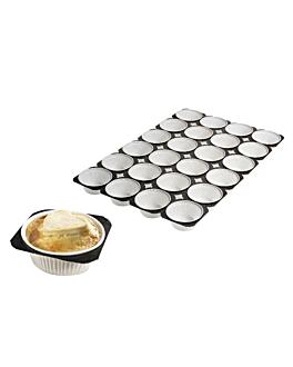 plateaux 24 muffin rÉcipients 50 g 33,6x50,4 cm papier (125 unitÉ)