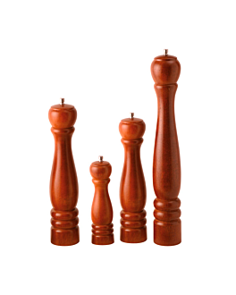 molinillo pimienta 21,5 cm marrÓn madera (1 unid.)