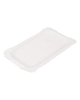 vassoi pasticceria - piccoli 17,5x11cm bianco cartone (250 unitÀ)