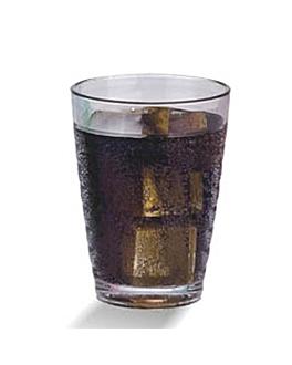 textured cups 380 ml Ø 8x12,8 cm clear polycarbonate (72 unit)