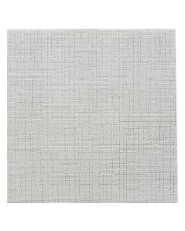 serviettes 'dry cotton' 55 g/m2 40x40 cm graphite dry tissue (700 unitÉ)