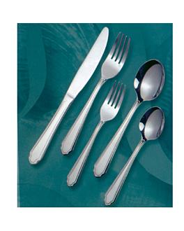 """fourchettes a dessert """"linea 2035"""" 17,5 cm/ 2,0 mm metal inox 18% (12 unitÉ)"""