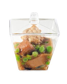 scatolina con coperchio 105 ml 6x6x7 cm verde acqua ps (576 unitÀ)