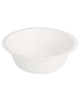 saladiers 'bionic' 350 ml Ø 13,5x4,6 cm blanc bagasse (900 unitÉ)