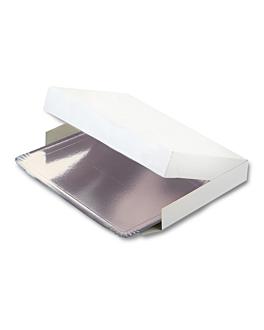 scatole catering auto montaggio 275 g/m2 19x28 cm bianco cartone (100 unitÀ)