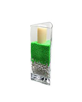 decoration verre 13,7x12x35 (h)cm transparent verre (1 unitÉ)