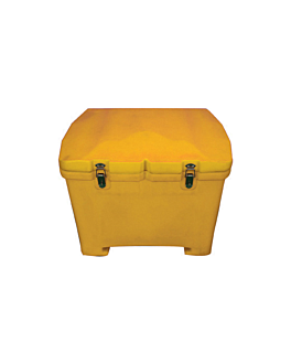 isothermal container pizza/scooter 59x53x47 cm yellow plastic (1 unit)