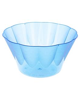 eisbecher plastik - 400 ml 12,2x6,6 cm blau ps (600 einheit)