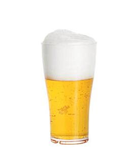 bicchieri birra 570 ml Ø 8,8x15,7 cm trasparente policarbonato (16 unitÀ)