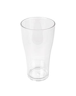 beer cups 570 ml Ø 8,8x15,7 cm clear polycarbonate (16 unit)