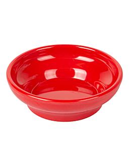 bols sauce 150 ml Ø 10,2 cm rouge melanine (48 unitÉ)