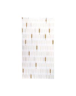 sacchetti panetteria 'ceres' 33 g/m2 19+8x35 cm bianco cellulosa (250 unitÀ)