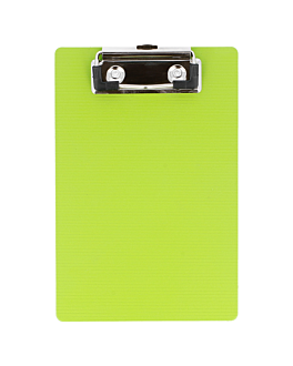 clipboard for order pads 12x18 cm kiwi pp (12 unit)