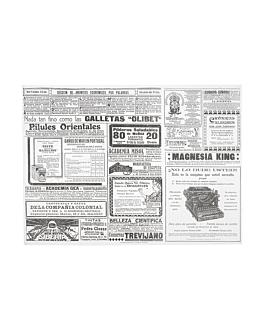 tovagliette 'gaceta' 48 g/m2 31x43 cm bianco cellulosa (2000 unitÀ)