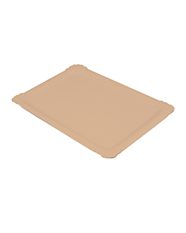 gebÄck-tablett - klein 20x13 cm natur kraft (250 einheit)