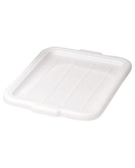 coperchio per codici 207.05/10 54,5x40x2,5 cm bianco plastica (1 unitÀ)