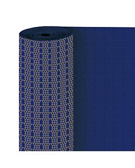 papel regalo 50 m abetos 60 g/m2 70 cm azul celulosa (1 unid.)