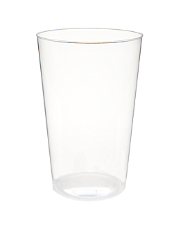 injected glasses 400 ml Ø 8,5x13 cm clear ps (500 unit)