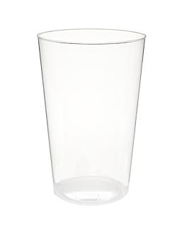 verres injectÉs 400 ml Ø 8,5x13 cm transparent ps (500 unitÉ)