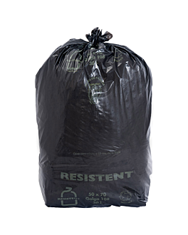 25 u. garbage bags 30 l 12µ 50x70 cm black peld (20 unit)
