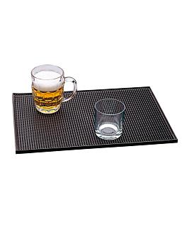 """tappetino da bar antiscivolo """"rail mate"""" 45,5x30,5 cm nero gomma (1 unitÀ)"""