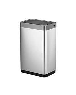 motion sensor trash can 47l 27,9x46,9x64,7 cm silver stainless steel (1 unit)