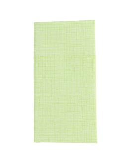serviettes kangourou 'dry cotton' 55 g/m2 40x40 cm kiwi dry tissue (700 unitÉ)