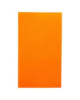 ecolabel napkins f.1/6 'double point' 18 gsm 33x40 cm clementine tissue (2000 unit)