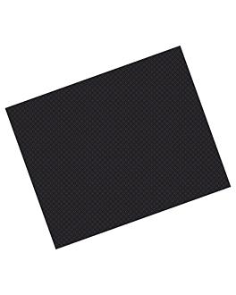 manteles 48 g/m2 70x110 cm negro celulosa (500 unid.)