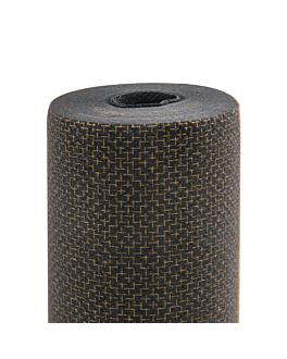 mantel 'elegance' 55 g/m2 1,2x25 m negro airlaid (1 unid.)